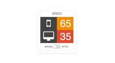 wordpress website performance improvement graphic